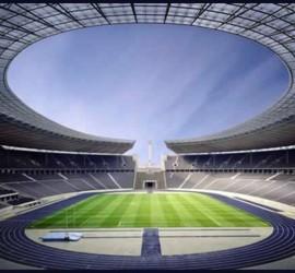 Olympiastadion Berlín Interior