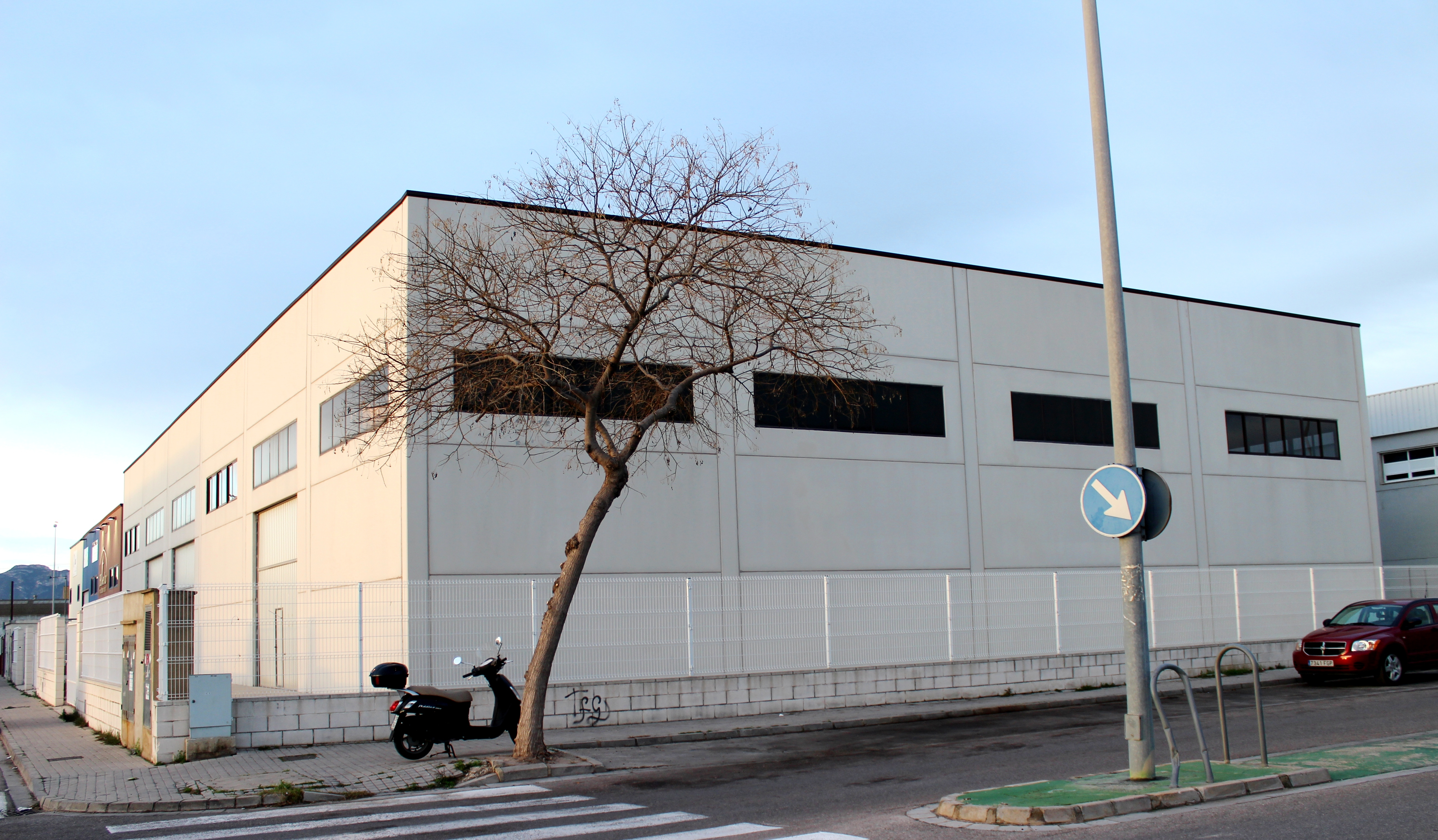 Nave Industrial fachada