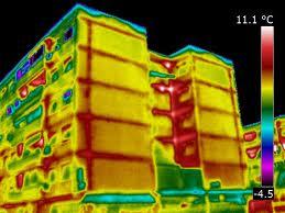 Termografía edificio