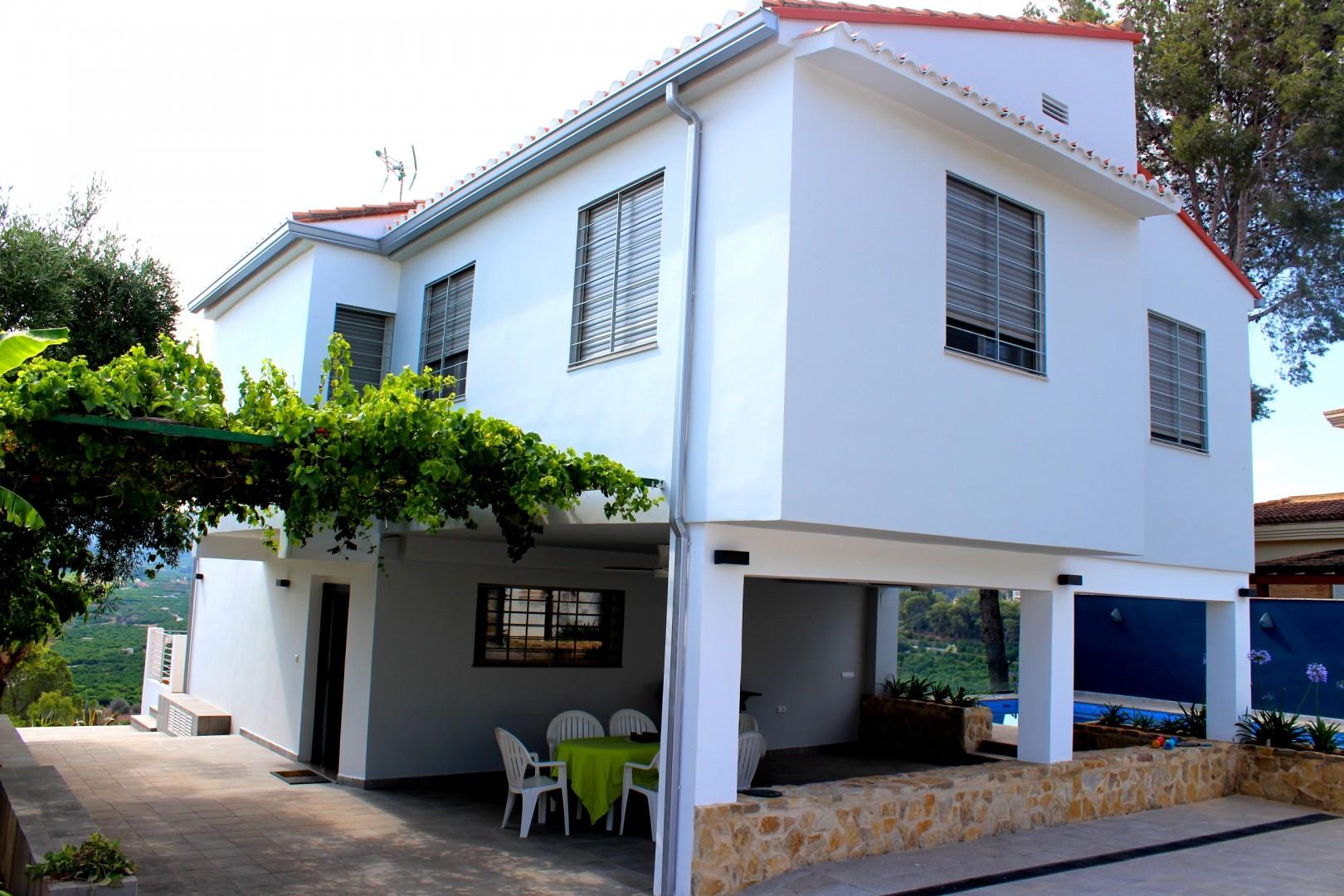 Casa Respirall terraza