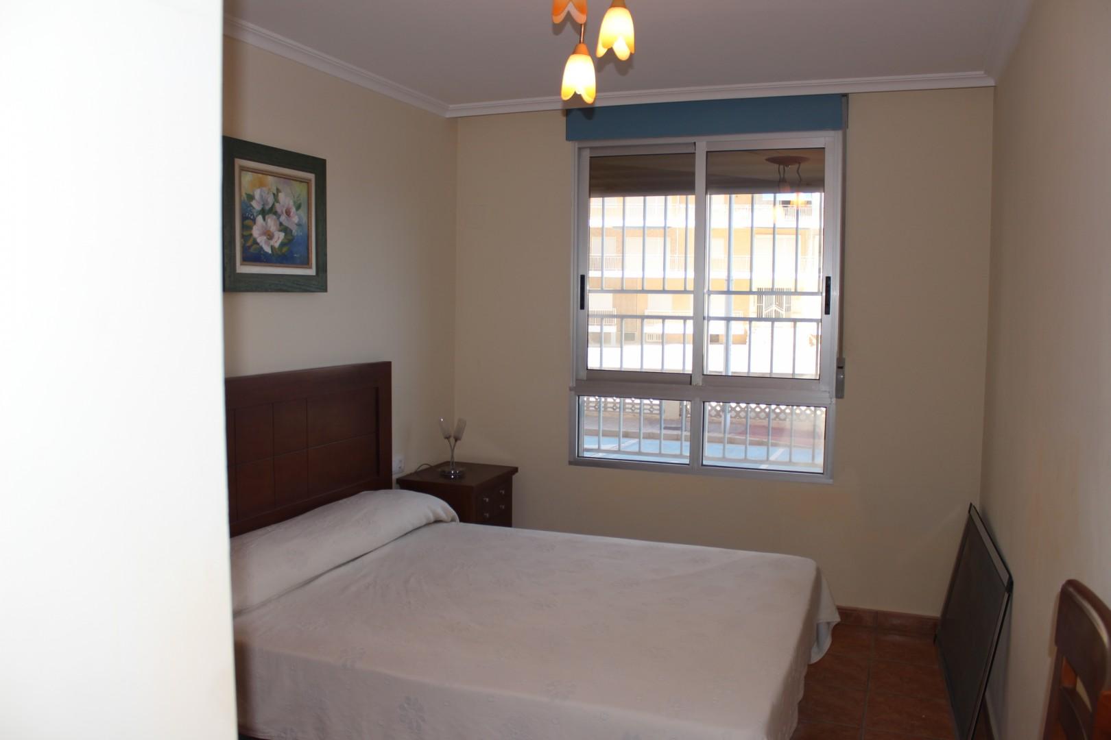 Apart Palmeres dormitorio