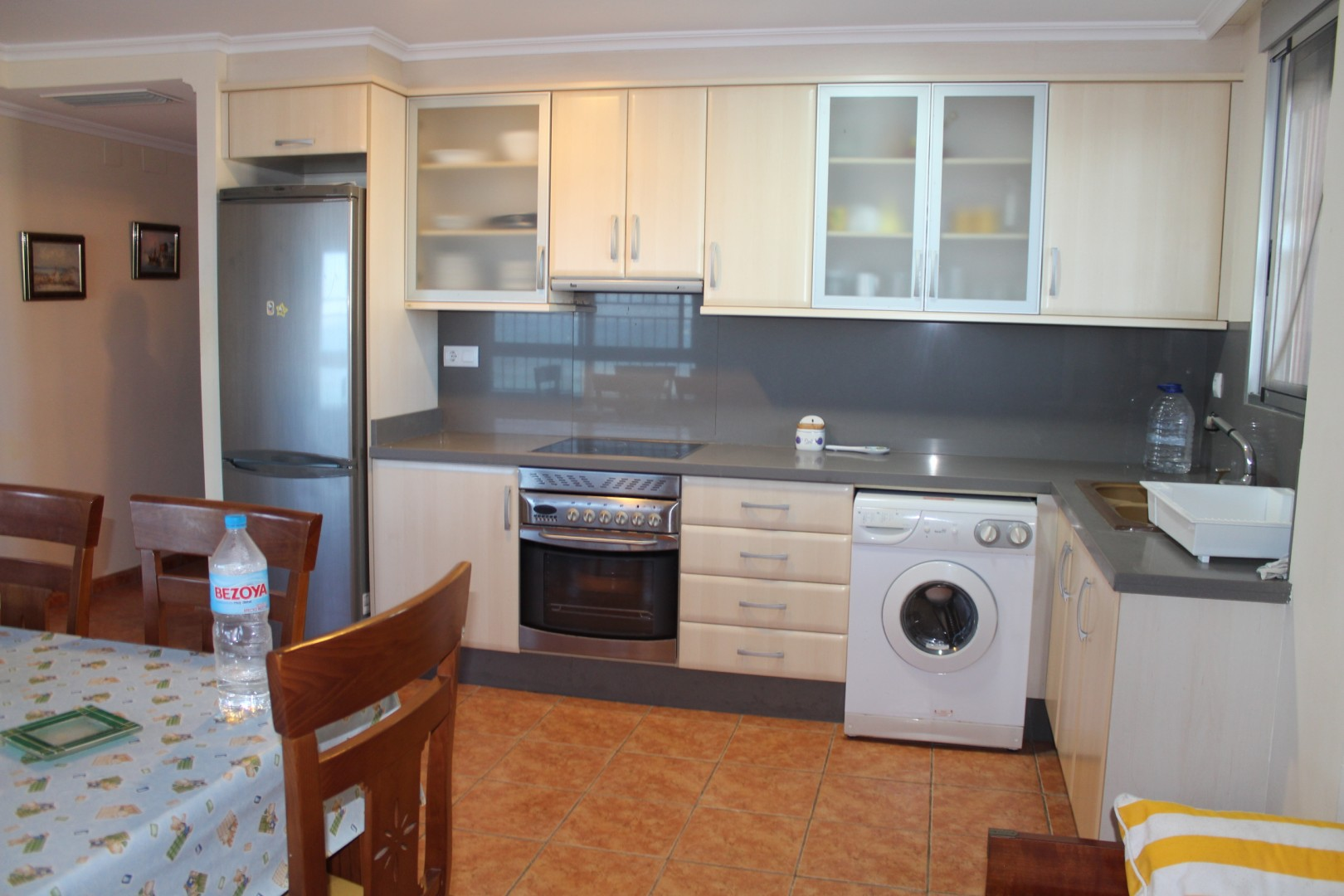 Apartamento Palmeres cocina