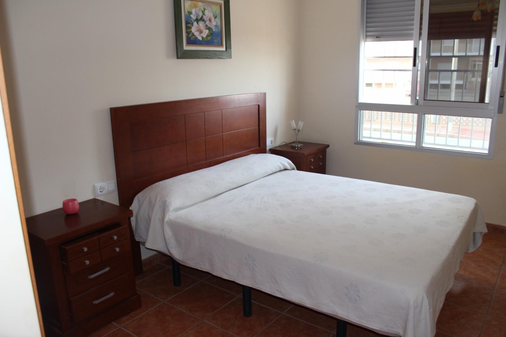 Apartamento Palmeres dormitorio