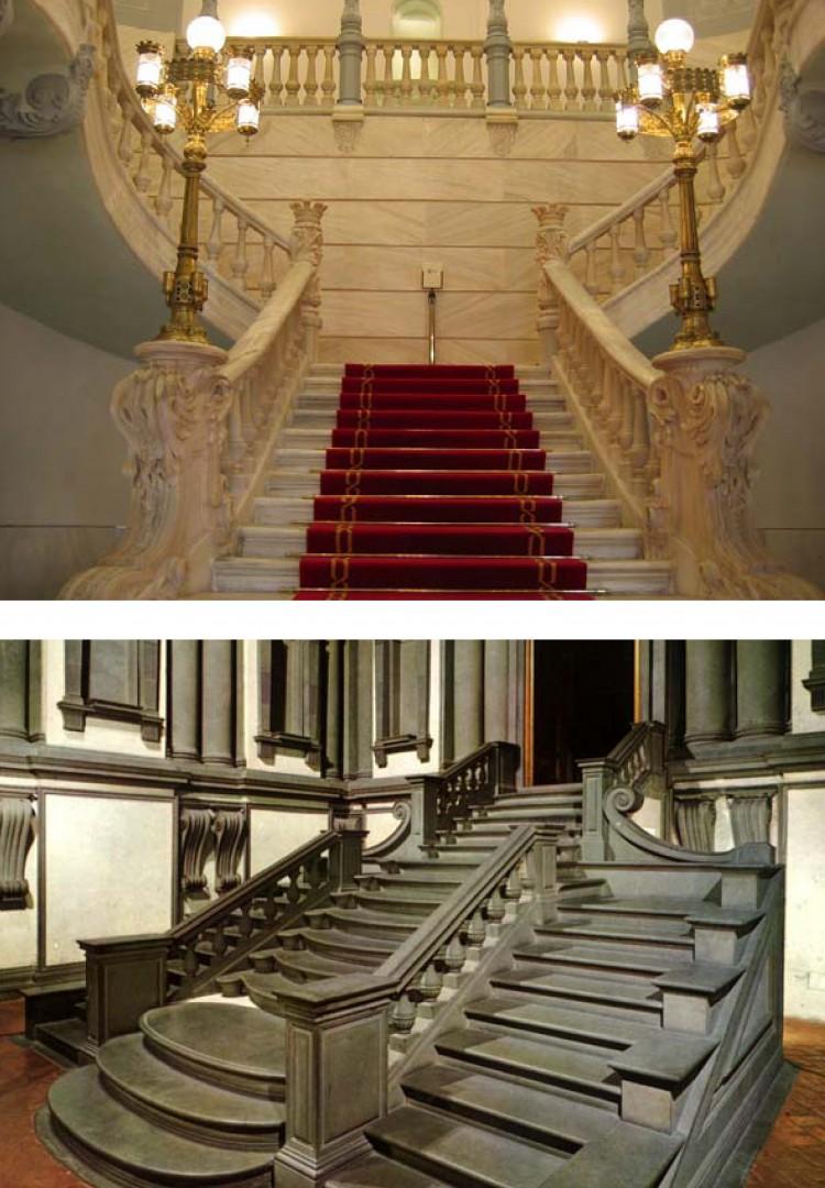 Escaleras imperiales