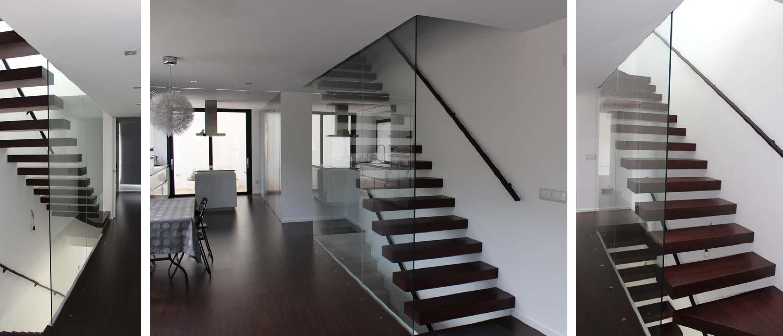 Tipos de escaleras for Soluciones para escaleras
