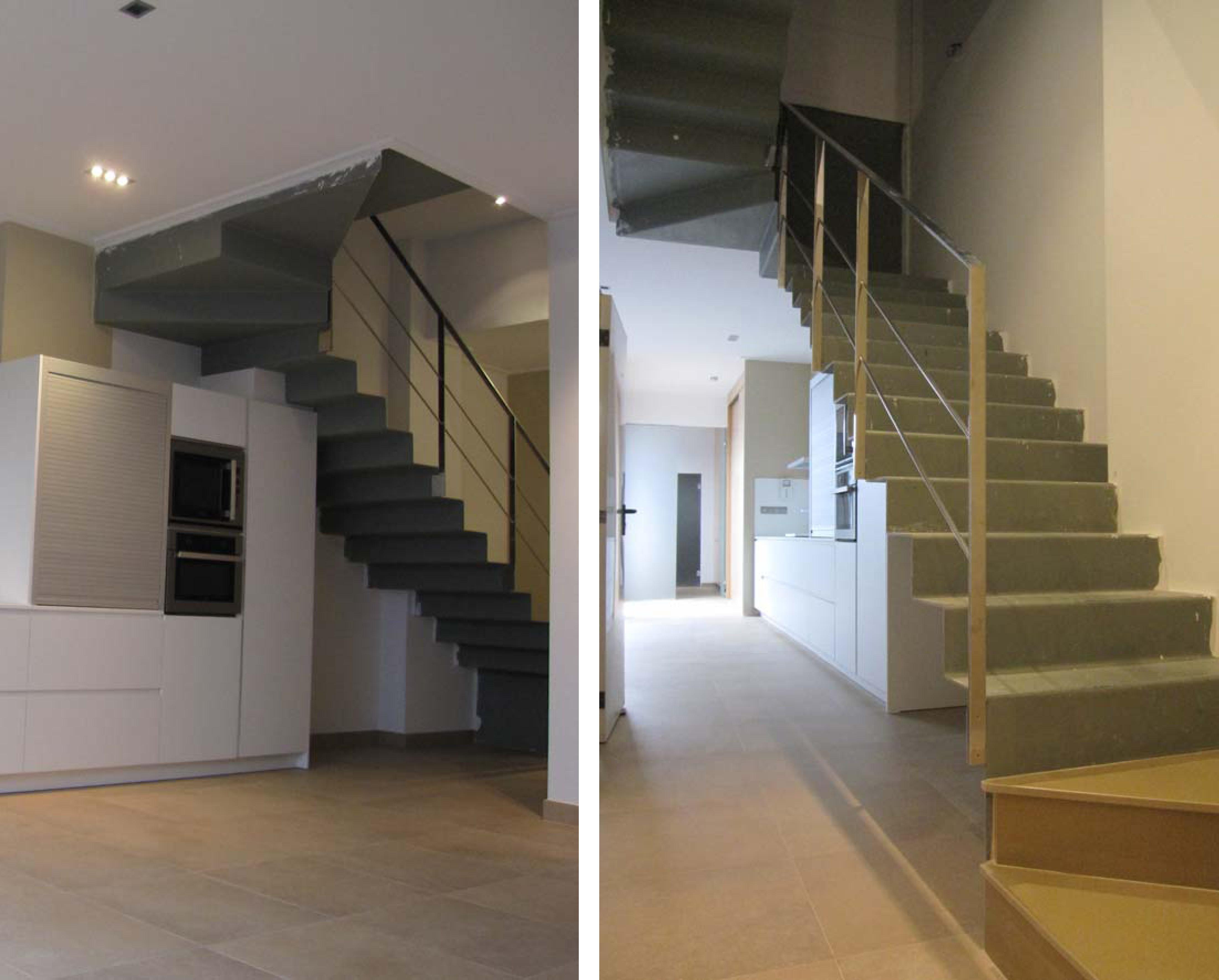 Tipos de escaleras - Escaleras de ladrillo ...